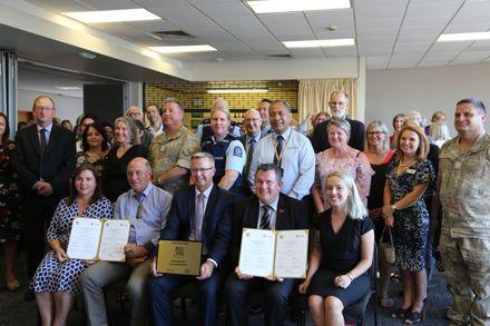 Safe Communities re-accreditation celebration
