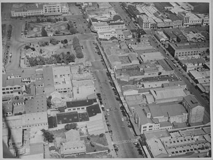 Aerial of Central Palmerston North