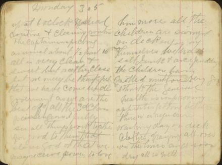 Shipboard diary p19