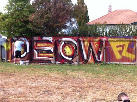 Graffiti at Norton Park 2