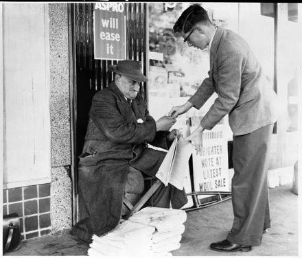Last of the Newspaper Sellers