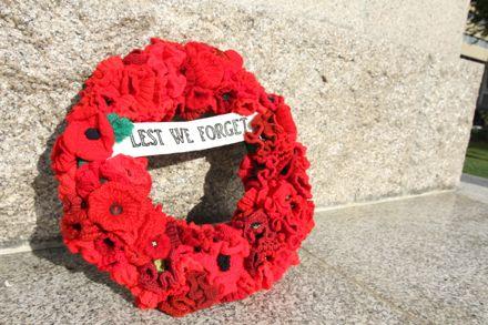 Palmerston North Community Poppy Wreath - ANZAC Day 2016