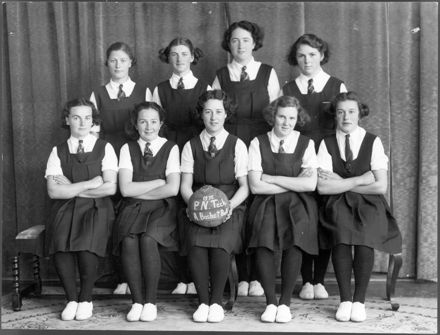 Palmerston North Technical College 'A' Basketball Team, 1938
