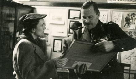Governor General, Lieutenant-General Sir Bernard Cyril Freyberg,  with Mrs E J Wilde