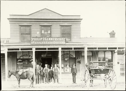 Philip Hennessy and Co., People's Cash Grocers, Foxton