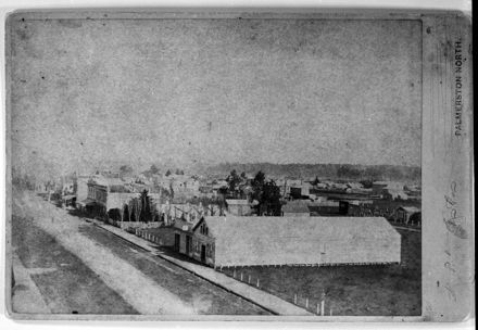 Palmerston North - Looking West