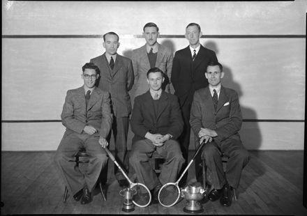Palmerston North Squash Rackets club players