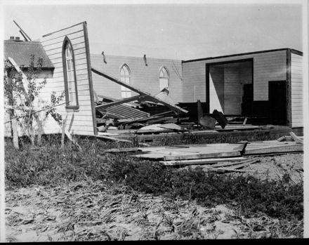 Storm Damaged Church, Longburn