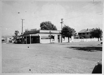 Corner of Ruahine Street and Broadway Avenue
