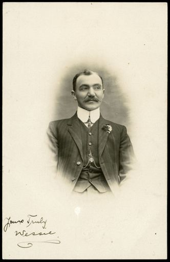 Unidentified Man on Christmas Card 1