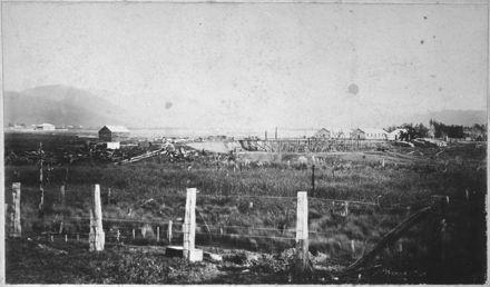 Construction of Miranui Flaxmill, Shannon