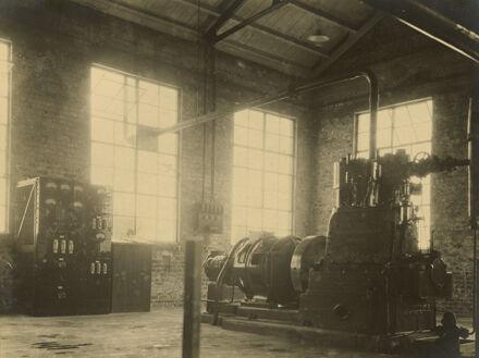 Abattoir steam engine and generator