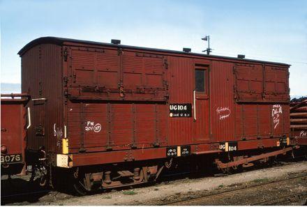 UG class Bogie Horse Box