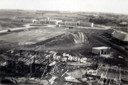 Construction of Ohakea Air Base