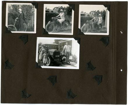 Barrow Family Photograph Album Page 4