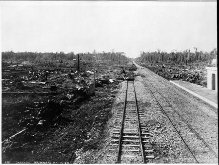 Wellington & Manawatu Railway Company Line to Shannon Railway Station