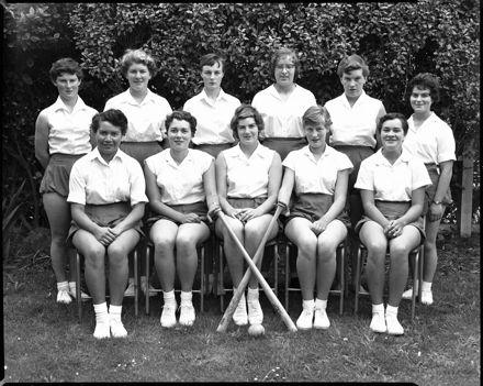 Hockey Team, Palmerston North Teachers' College