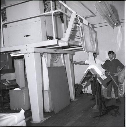 Making Cloth at Jacquards Mill