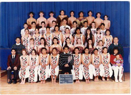 Freyberg Highschool Māori Club, 1992