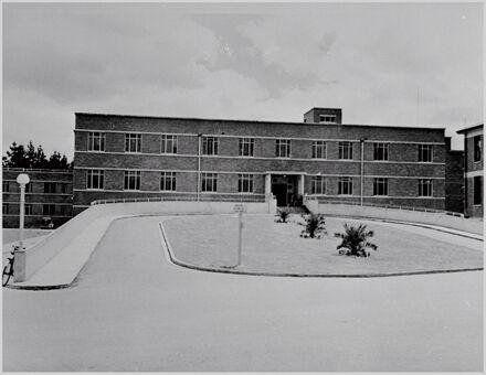 A & E entrance, Palmerston North Hospital
