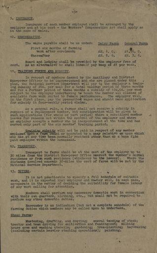 Women's Land Service Rules 3