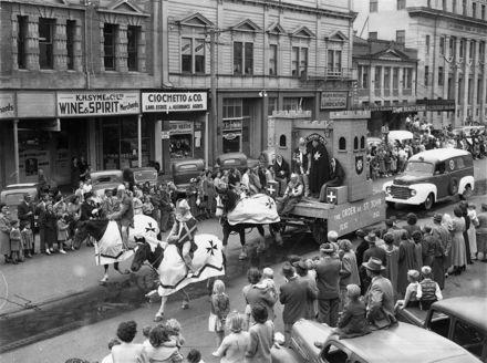 Palmerston North 75th Jubilee celebration procession