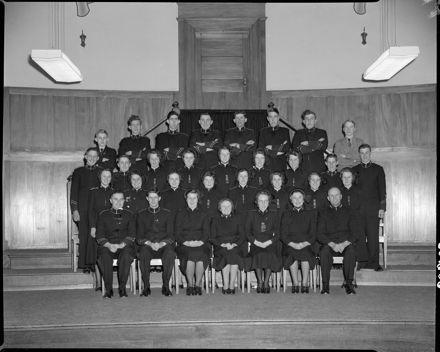Salvation Army Cadet Corp.