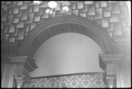 Hall archway at 'Waimarama', 46 Alfred Street