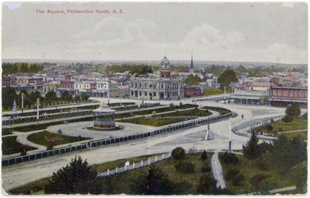 Colour Postcard of The Square
