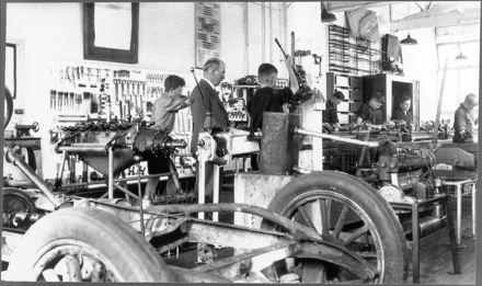 Palmerston North Technical College Workshop