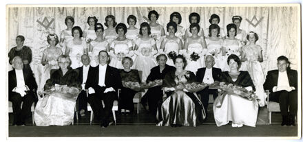 Grand Masonic Ball debutantes and offical party