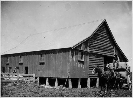 Wagon-load of Wool, Matsubara, Bunnythorpe