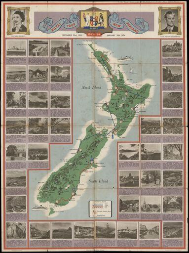 Royal Tour of New Zealand, 1953-1954