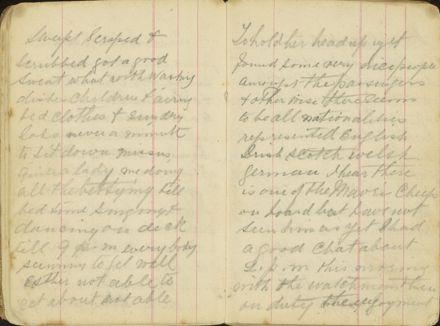 Shipboard diary p12