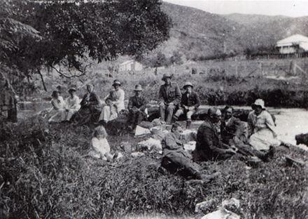 Picnicking by Kahuterawa Stream