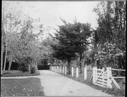Entrance to Carow Ladies' College