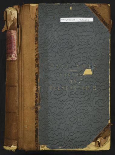 Palmerston North Rate Book 1896 - 1899