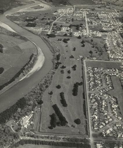 Aerial view of Awapuni