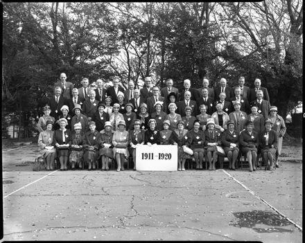 Linton School Jubilee - 1911-1920 Group