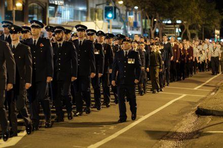 ANZAC Day Dawn Parade 2018