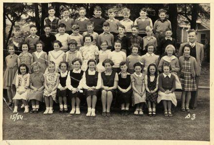 Terrace End School - Standard 3, 1954