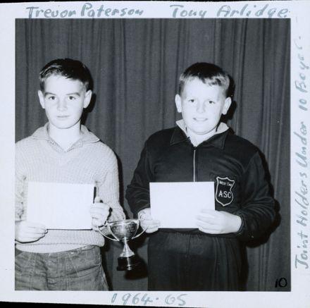 West End Amateur Swimming Champions - Trevor Paterson / Tony Arlidge