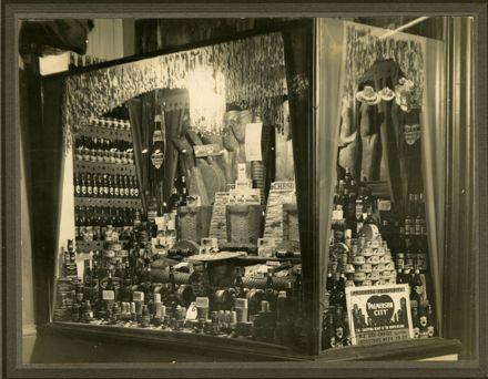 Jackson and Carven shop window display