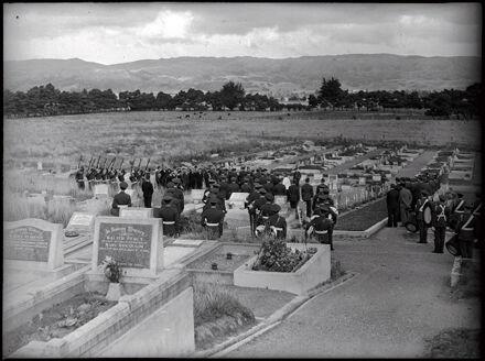 Air Force Gun Salute at Kelvin Grove Cemetery