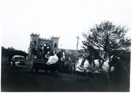 St Johns Float - 1952 Jubilee Celebrations