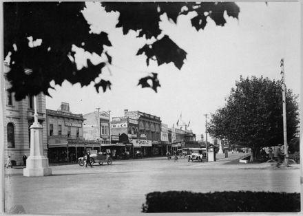 Corner of The Square and Rangitikei Street