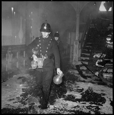 """Fireman Remove Property of Owner"" Ashhurst Fire"