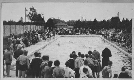Official Opening of Hokowhitu School Swimming Baths