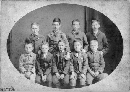 Boy pupils, first state school
