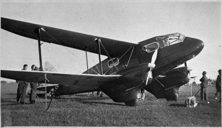 de Havilland Rapide aeroplane at Milson Airport